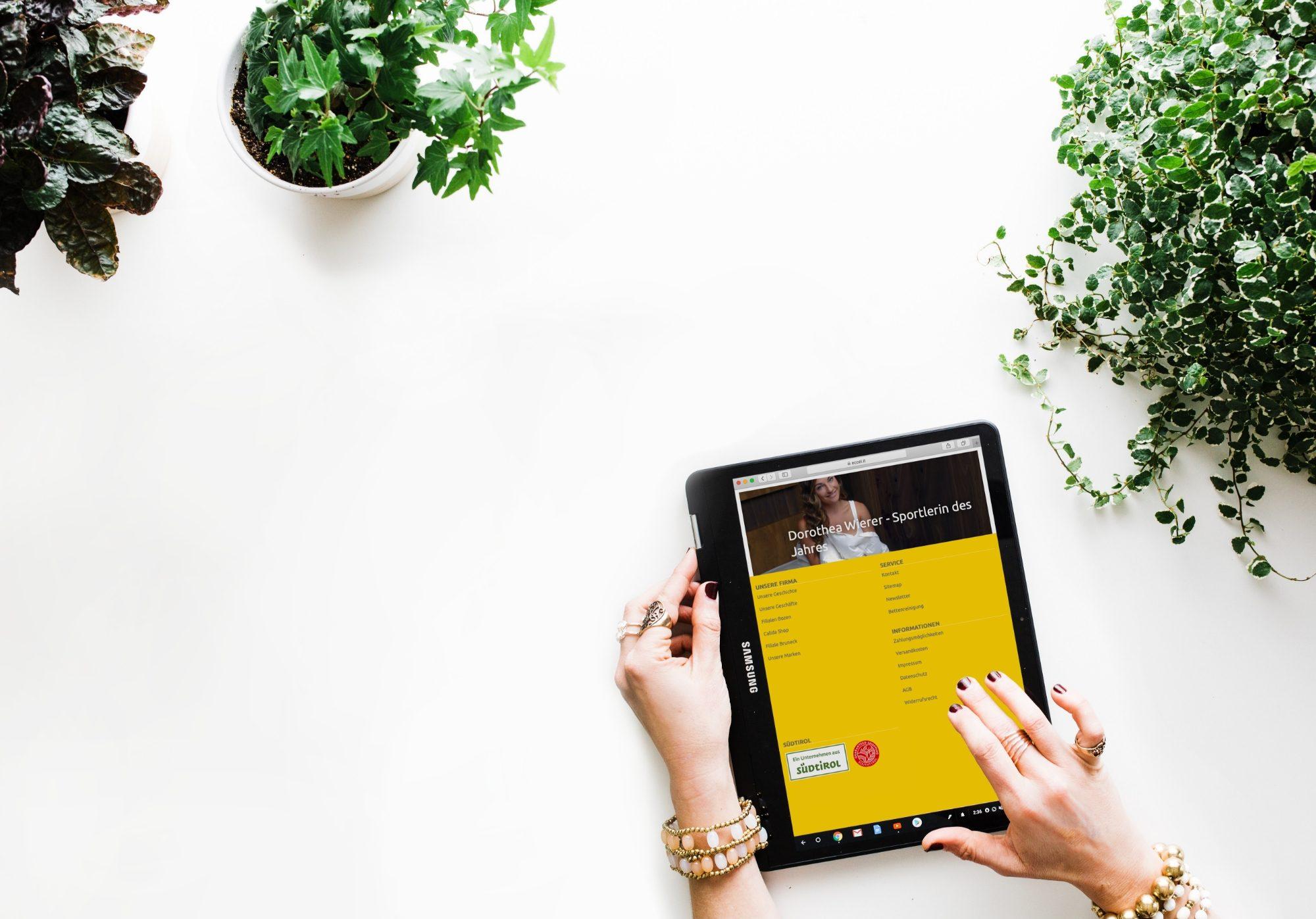 Südtirol Siegel für Online-Käufer